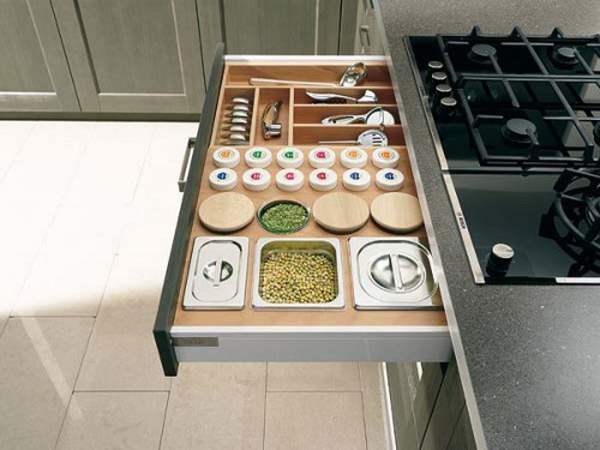 Small kitchen drawer ideas Drawers in kitchen design