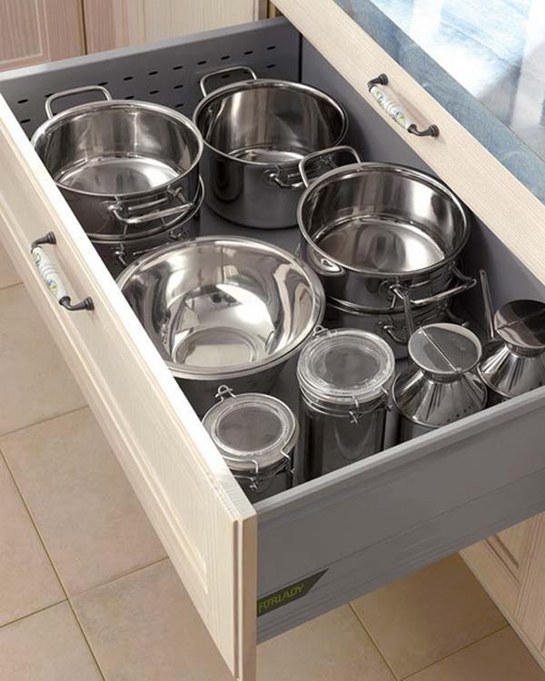 small-kitchen-drawer-pans Pan Storage Ideas Small Kitchens on kitchen grill ideas, rolling pin storage ideas, kitchen pan recipes, kitchen oven ideas, kitchen pot storage,