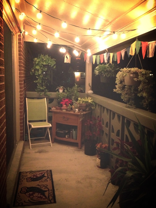 15 small balcony lighting ideas home design and interior