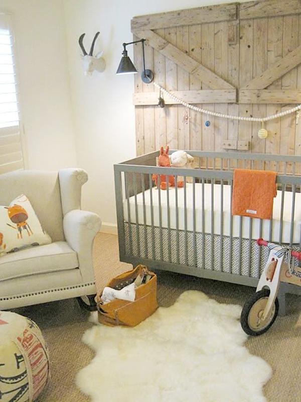 Gallery Of 25 Minimalist Nursery Room Ideas