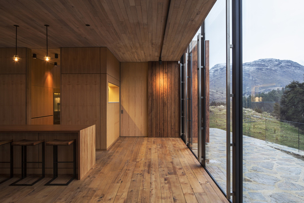 Wanaka House With Wooden Element