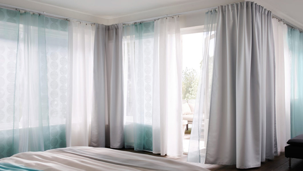 Curtains Inspiration With Soft Touch Home Design And Interior. A  Multifunctioning Curtain System
