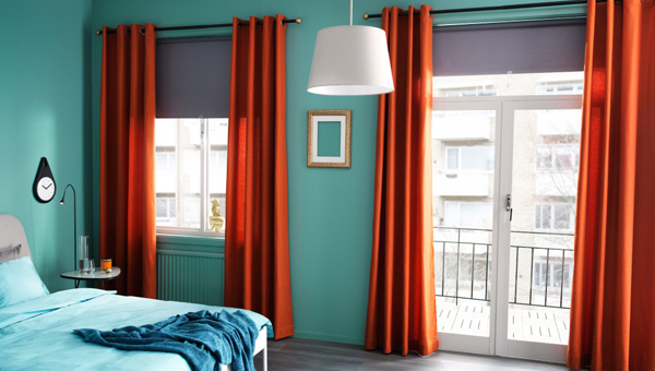 Ikea Curtains Color Spice Things Up
