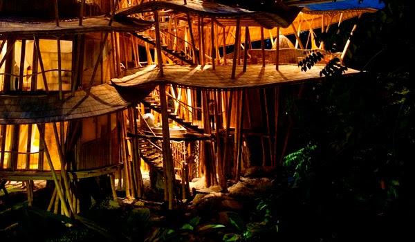 Bamboo Tree House In Bali