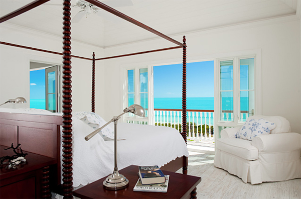 Beach House Bedroom With Ocean View