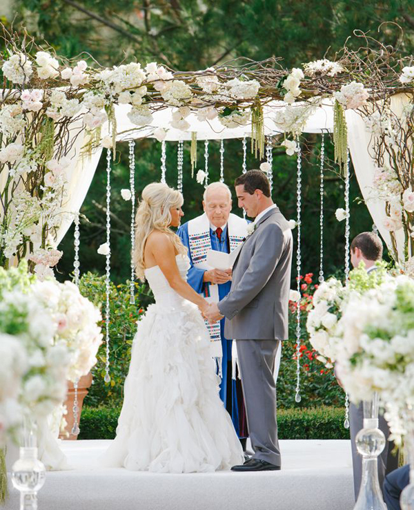 Beautiful Outdoor Wedding Backdrop