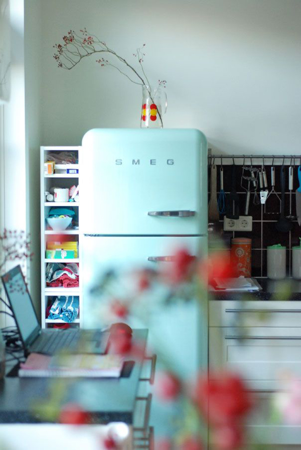 gallery of 20 retro smeg fridges for small kitchens