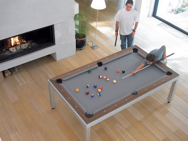 Fusion Pool Dining Tables For Home And Office Home  : contemporary dining pool table ideas from homemydesign.com size 600 x 450 jpeg 195kB