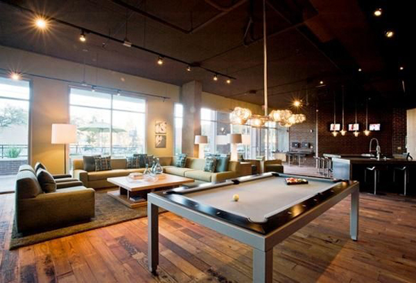 Cool pool tables - Cool Billiard Room Decoration