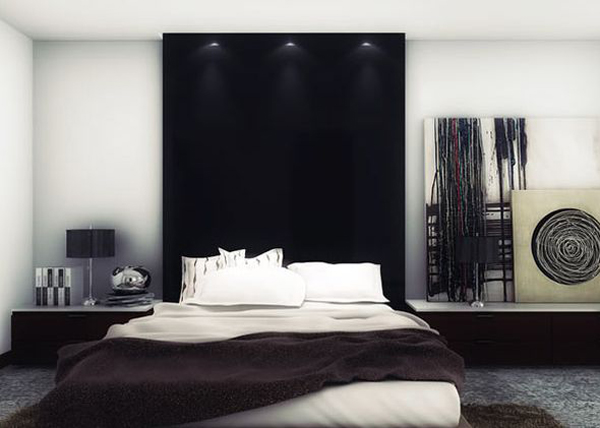 Cool Headboard Bed For Bachelor Room