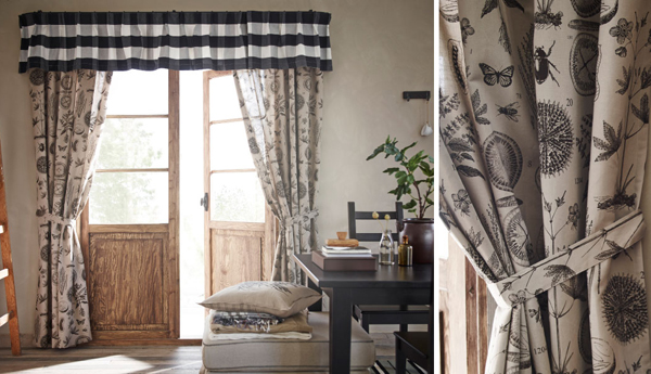 ikea curtains inspiration with soft touch home design. Black Bedroom Furniture Sets. Home Design Ideas