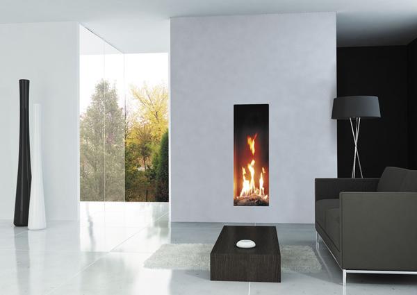 Gas Fireplace Wall Decor