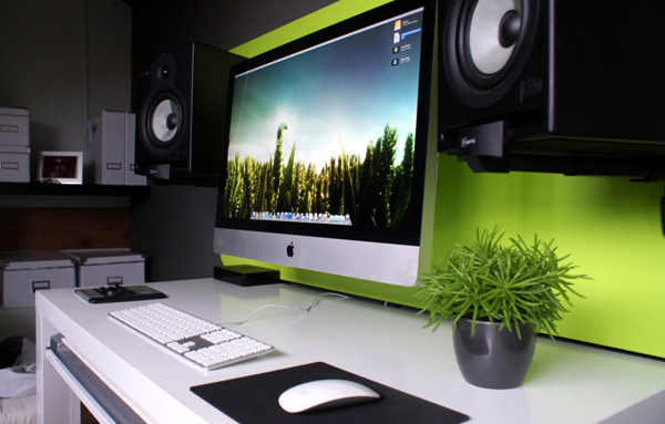 interior design of apple office with Green Imac  Puter Desk With Sound System Ideas on Interior Design Cafe Restaurant In Rote likewise Free Living Room Poster Mockup together with Cute Hello Kitty Kitchen Design in addition The Office Of The Future in addition Medium To High Light.