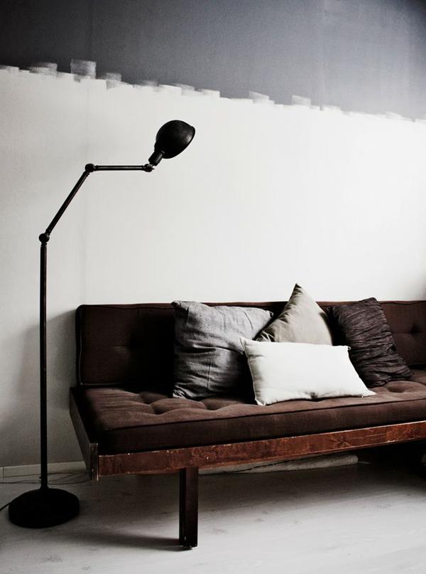 20 Inspiring Half-Painted Wall Decor Ideas | Home Design And Interior