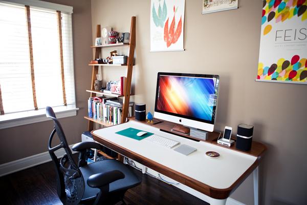 Apple Computer Desk 30 Modern Imac Arrangement Home Design And Interior