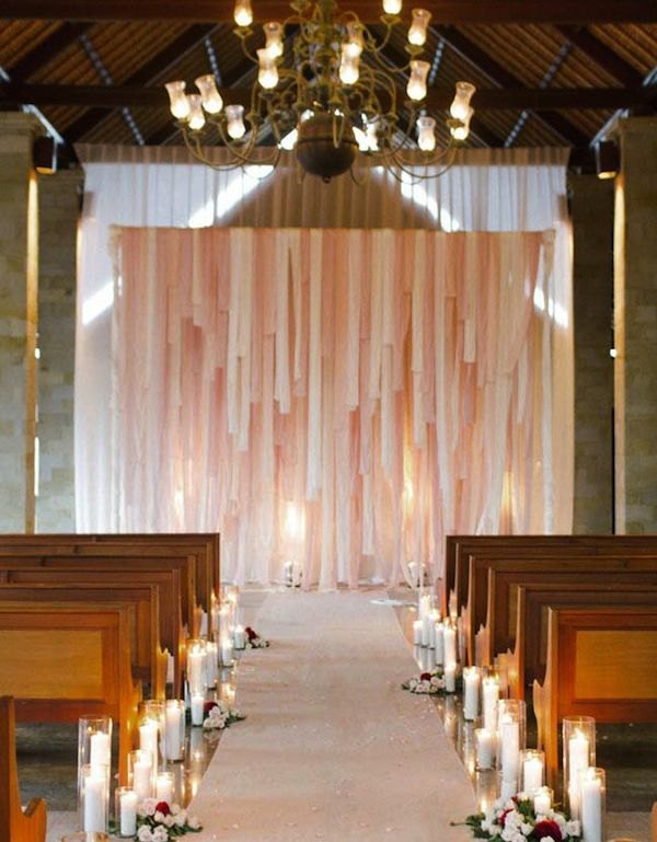 30 romantic alternative wedding backdrops home design and interior you might also like 22 rustic country wedding table decorations junglespirit Images