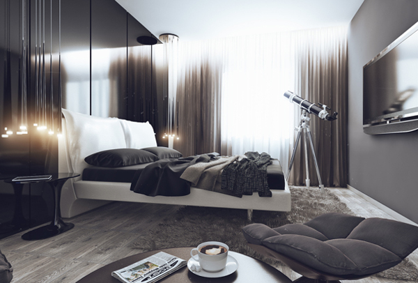 Many people out there think that bachelor pad bedroom is a bad space and has resemblance to any dorm room. But I think it is not always true. & 25 Trendy Bachelor Pad Bedroom Ideas | Home Design And Interior