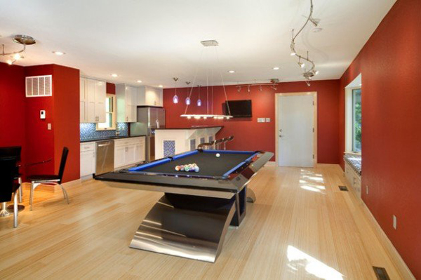 30 Amazing Billiard Pool Table Ideas | HomeMydesign