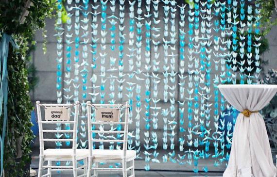 papercrane-wedding-backdrops-ideas