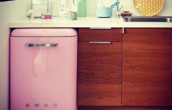 pink-SMEG-kitchen-cabinet