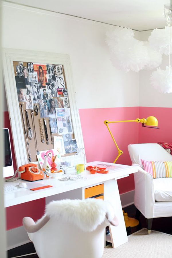 20 Inspiring Half-Painted Wall Decor Ideas | Home Design And Interior