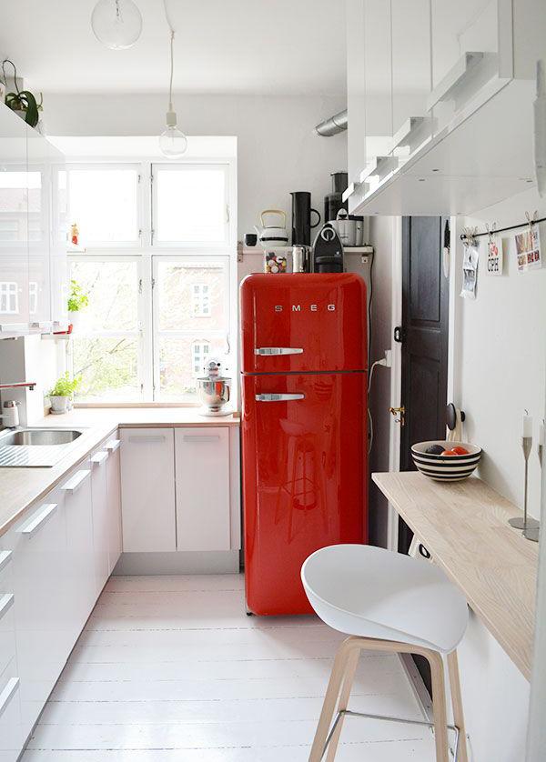 20 retro smeg fridges for small kitchens home design and interior