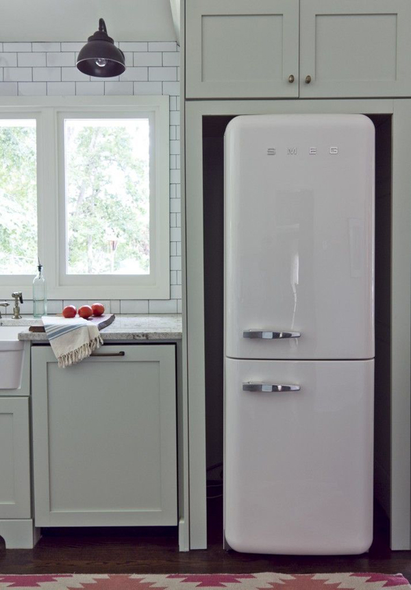 Fridge freezers for small kitchens