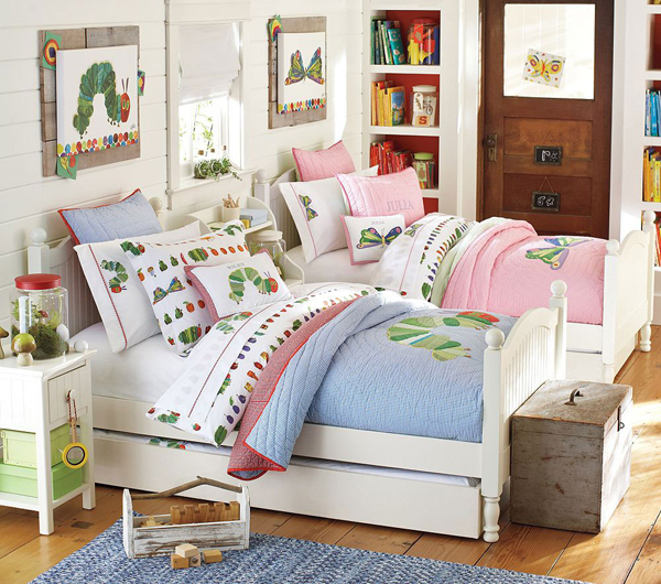 20 Shared Kids Bedroom Ideas With Two Concepts | HomeMydesign