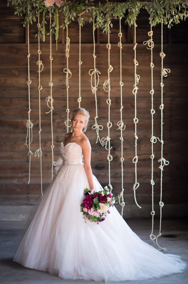 Simple Wedding Backdrop