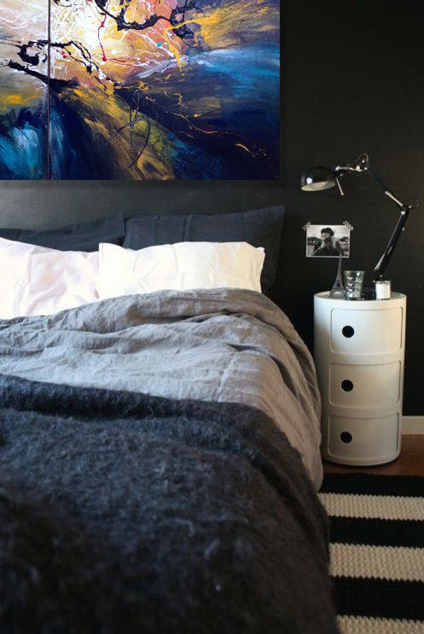 25 trendy bachelor pad bedroom ideas home design and for Small bachelor pad