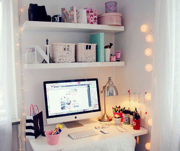 Awesome  Decor Ideas To Emphasize Your Desk  Homesthetics  Inspiring Ideas