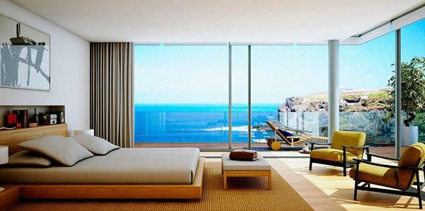 amazing bedroom.  enjoy it every year but for those of you who do not have this privilege follows is collection bedroom and course the beach with amazing sea view 30 Amazing Bedroom Design With Beach View Home And Interior