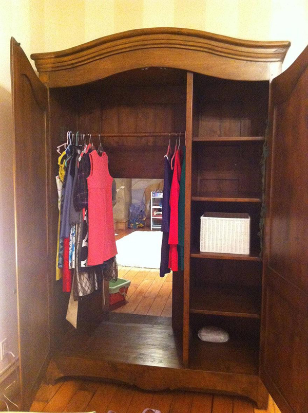 Chronicles Of Narnia Bedroom Cabinet