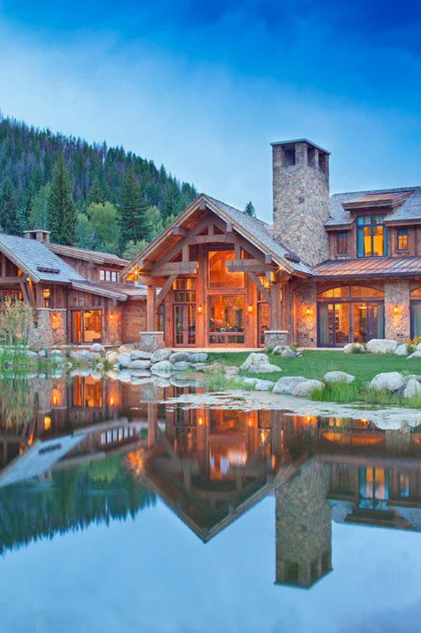 Amazing mountain house designs for Mtn house