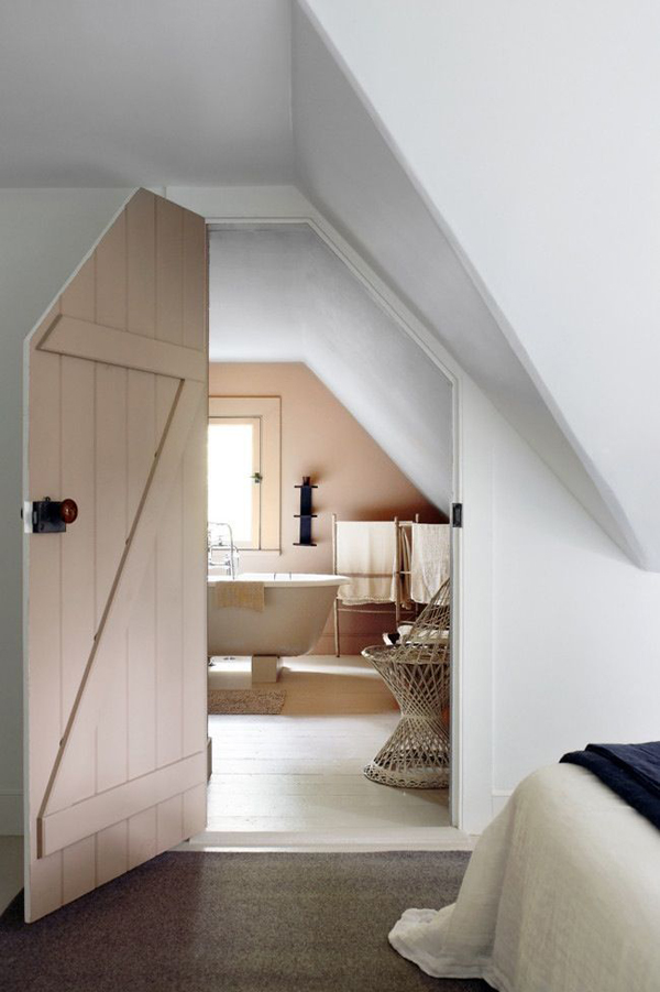Attic Bathroom And Bedrooms