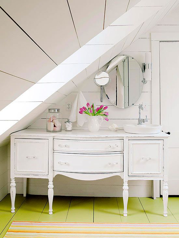 Small Bathroom Vanity Storage Under Sink