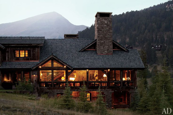 Beautiful Mountain House Views