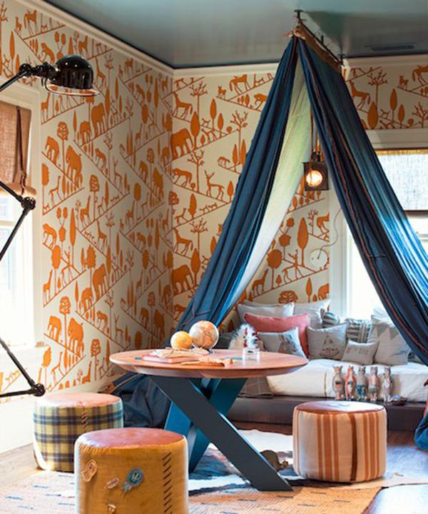 Bohemian Kids Room: Bohemian-kids-bedroom-decoration