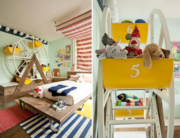 Circus Bedroom Theme