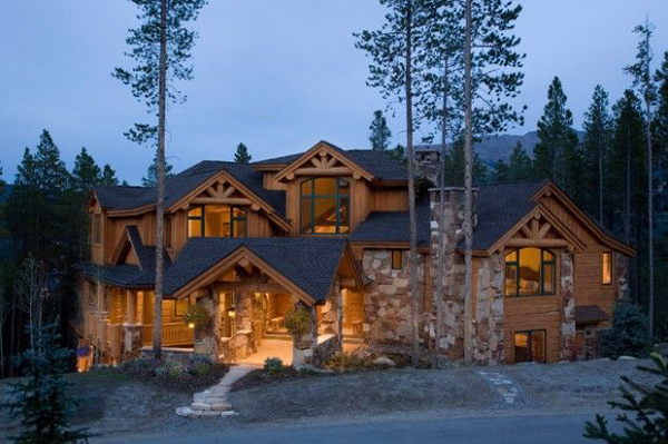 Contemporary mountain houses for Mtn house