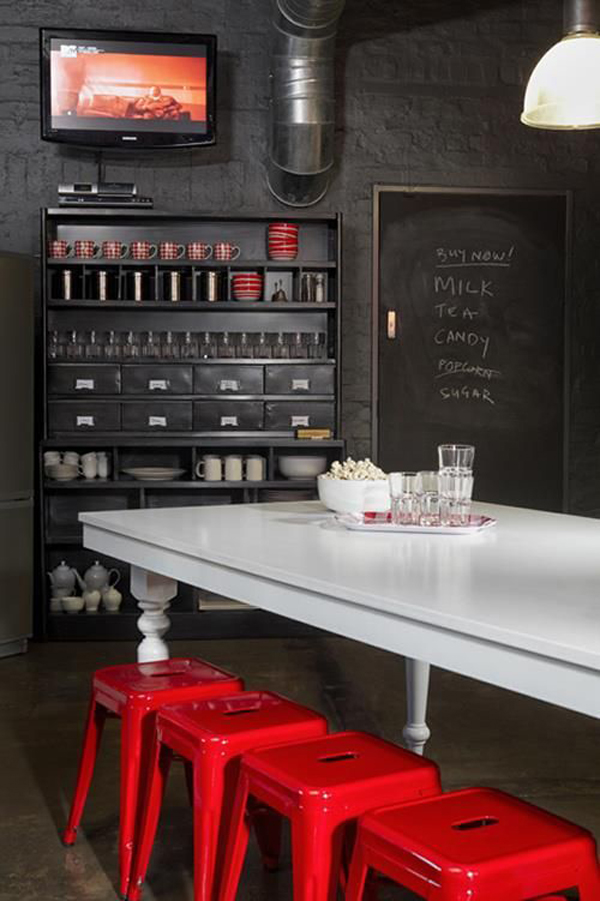 Cool Industrial Dining Room Designs
