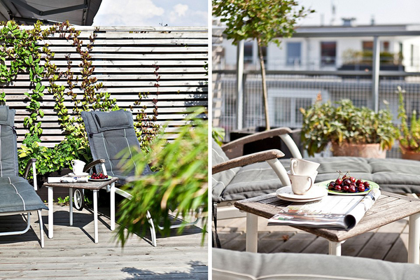 exclusive apartment with two roof terraces home design