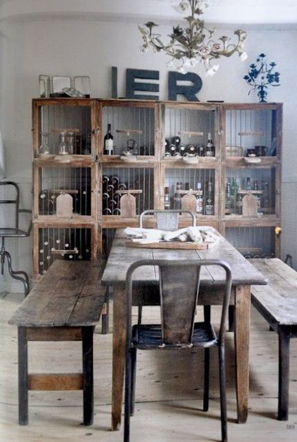 Industrial dining room ideas for Dining room ideas 2014