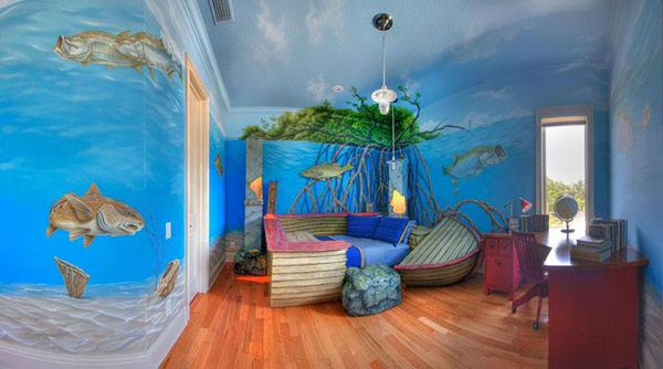 Island shipwreck bedroom theme for Island decor bedroom