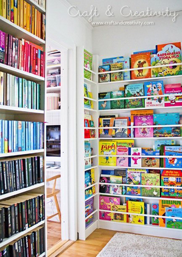 Home Design Ideas Book: 20 Wonderful Kids Book Display Ideas