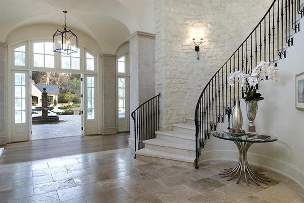 Kim Kardashian House Staircase