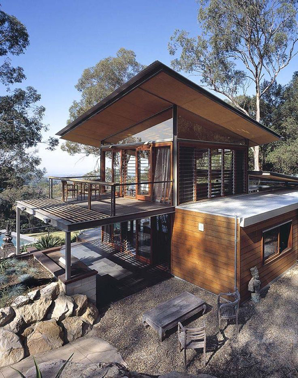 wonderful modern mountain house plans #2: Homemydesign.com