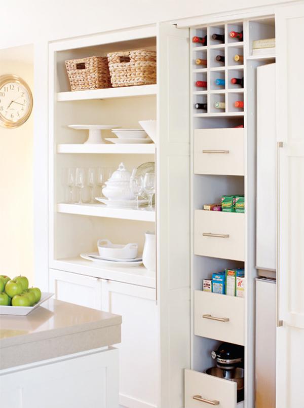 Modern Small Kitchen Organizer