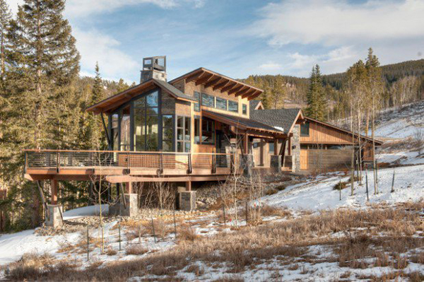 35 awesome mountain house ideas home design and interior for Mountain style home plans