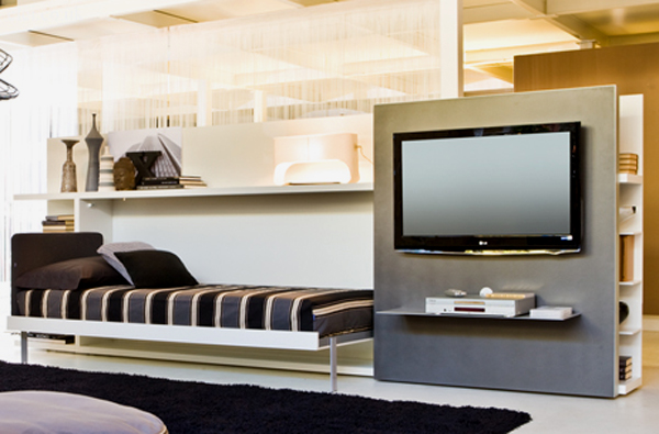 Poppi theatre wall bed units by clei home design and for Clei wall bed